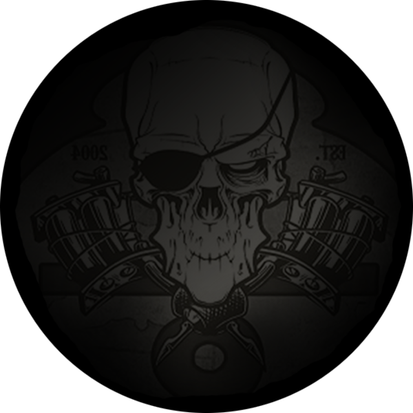 Pirate Island Tattoo Logo